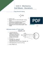 Physics as - Unit 2 - Deviations (1)