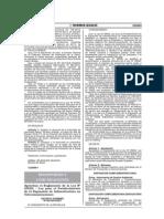 Decreto Supremo Nº 003-2015-Mtc