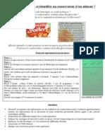 AGIR- AD-Exercice Maison- Extraire Et Identifier Un Conservateur de Gnocchis (1)