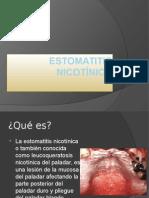 ESTOMATITIS NICOTINICA