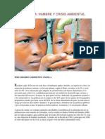 colombia hambre y crisis ambiental 2015