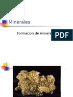 4.1Formacion de Minerales