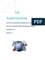 Exportaciones - Trabajo académico -