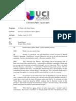 Marco Rubio - Jorge Ramos Interview / Official Univision transcript