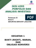 TPAI-Modul-8-9a right,warran, convertable bonds,future.ppt