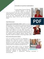 Artistas Destacados en La Pintura Guatemalteca