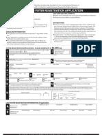 Md Voter Registration Application