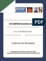 ABHR - Caderno de Resumos - Versão Final