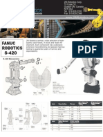 Fanuc S-420 Robot Specification
