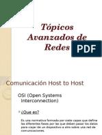 Comunicación Host to Host - OSI