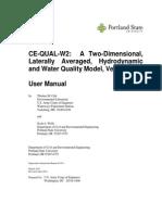 Manual de usuario CE-QUAL-W2