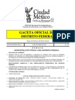 Reformas Codigo Procedimientos Civiles y Código Civil D.F. 29 Agosto 09, publicado 10 Octubre 2009