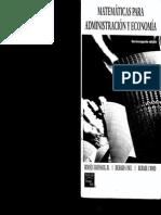 Matematicas Para Administracion y Economia 12 Ed Haeussler