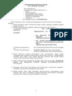 Perjanjian Kontrak Kerja Direksi