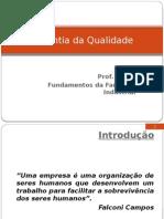 Garantia da Qualidade - Farmácia Industrial