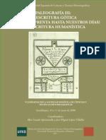 01 Antonio Claret Garcia Martinez Escritura Castilla Siglos XVI y XVII