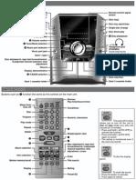 Panasonic SA-AK240 Sistema de Audio Con Casette-CD-MP3 Manual Simple