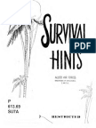 Survival Hints Ww2 Pacific Sere
