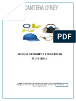 Manual de Higiene y Seguridad Industrial Tesis