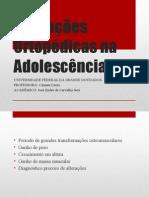Alterações Ortopédicas Na Adolescência