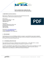 Regulamento de Curso de Paramotor