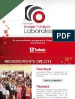 Concurso Buenas Practicas Laborales