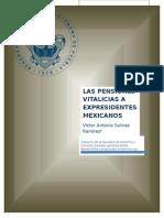 PENSIONES A EXPRESIDENTES DE MÉXICO DHTIC PRESENTACIÓN