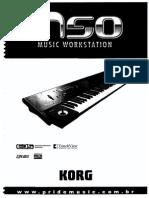 Manual Português Korg M50