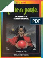 Souhaits Dangereux - R.L. Stine
