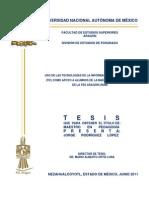 26. Uso de Las Tecnologías de La Información y Comunicación (Tic) Como Apoyo a Alumnos de La Maestría en Pedagogía de La Fes Aragón Unam