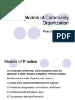 Models of Community Organization.2005