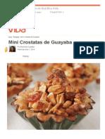 Mini Crostatas de Guayaba - Que Rica Vida.pdf