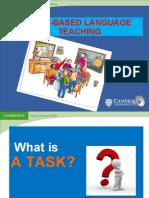 Task Based Teaching