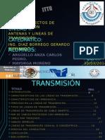 Exposiciontopicosselectosdecomunicaciones Antenasylineasdetransmision 140331161340 Phpapp01