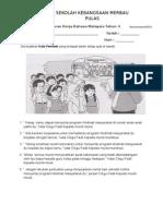 Lembaran Kerja Bahasa Malaysia Tahun 4 Tatabaha Kata Perintah Pemulihan