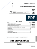 Marantz Dv6001 Service