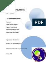 normalidad en la industria alimentaria (México)
