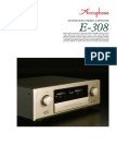 Accuphase E-308 Stereo Ampl