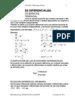 definicion clasica ecuaciones diferenciales