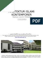 ARSITEKTUR ISLAMI KONTEMPORER