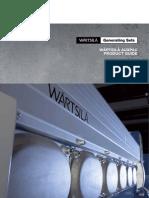 Catalogo de Generadores Wartsila