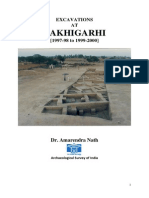 xcavations at Rakhigarhi, 1997-98 to 1999-2000 (Full text of ASI Report; Dr. Amarendra Nath, Former Director (Archaeology), ASI