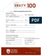 experiential learning application form
