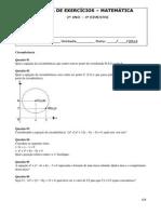 ALUB (Lista de Exercícios Matematica 2º ano 4º Bimestre).pdf