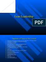 Lean Leadership PowerPoint Presentation