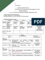 Calendario de Actividades Módulo Fundamementos Biológicos II