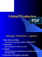 Logistics and Manufacturing