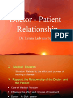 Doctor Patient Relationship