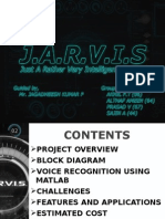 j.a.r.v.i.s  project presentatiopn