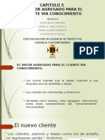 CAPITULO 5 - El Valor Agregado Para El Cliente via Conocimiento